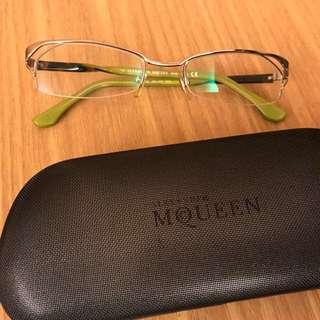 Alexander McQueen 正品 平光眼鏡