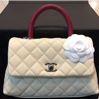 Small chanel coco handle