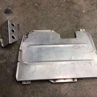 FD2R Carbing Okuyama Dash Heel Adjustment Plate & Footrest