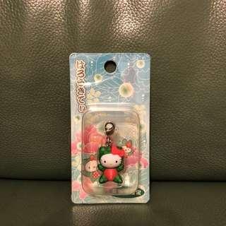 正版Hello Kitty 吊飾 日本北海道限定