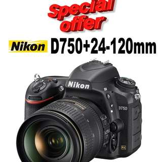 Nikon D750 With 24-120mm Kit