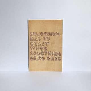 Hand-lettered Postcard by Scott Albrecht - 21