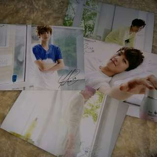 EXO-K NATURE REPUBLIC MINI POSTER