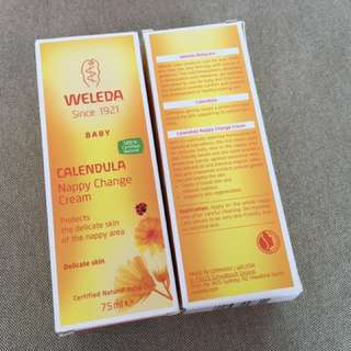 Weleda Calendura nappy change cream 75ml 81g