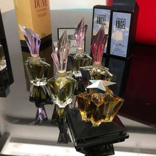 Thierry Mugler Angel Perfume. Limited edition mini bottle.