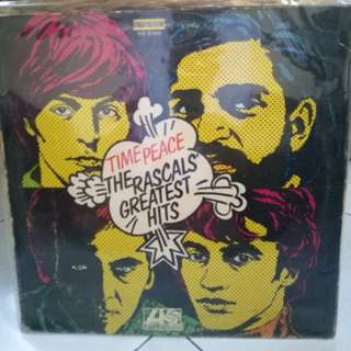 THE RASCALS GREATEST HITS TIME PEACE VG