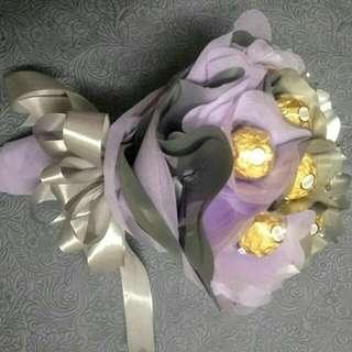 Valentine/Birthday Ferrero rocher handmade bouquet(Free Delivery)