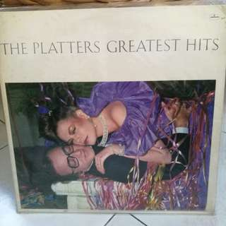 THE PLATTERS GREATEST HITS VG