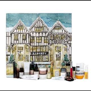 Liberty Advent Calender2017 diptyque/byredo/le labo/hourglass/makeup/skincare/化妝/保養品