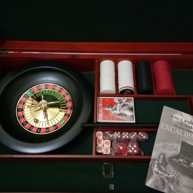 6 in 1 portable casino
