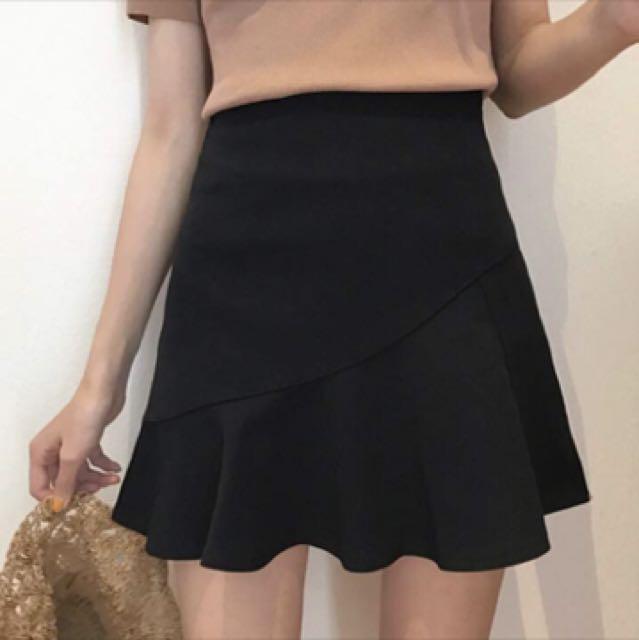 黑色可愛淑女裙