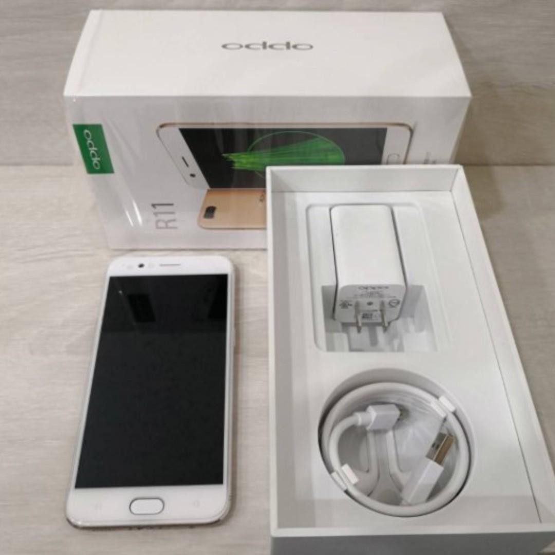 二手機 歐珀 OPPO R11/64GB 金色 中古機 神腦保固至2018/7月