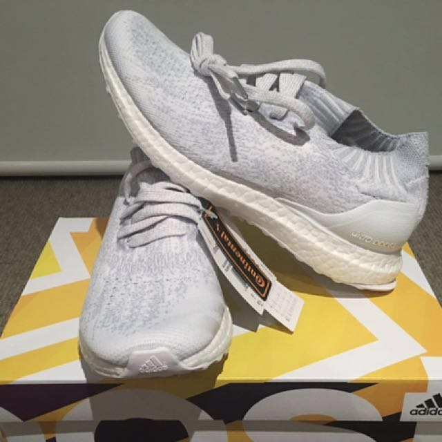 Adidas ultraboost uncaged UK6 (white & crystal white)