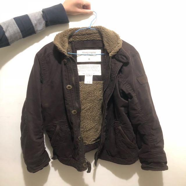 A&F超保暖外套