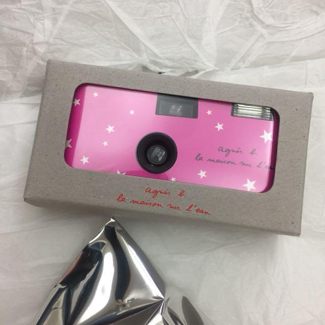 全新限量agnes b傻瓜相機 底片機