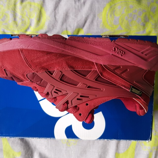 Asics Layout Gels Suede Red