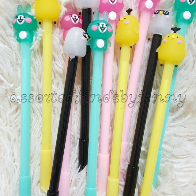 Assorted character ballpen set 12s