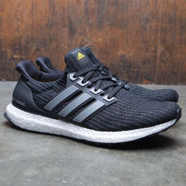 ... closeout authentic adidas ultraboost ltd 5th anniversary black iron  metallic vivid yellow mens fashion footwear on 7117f4b9c