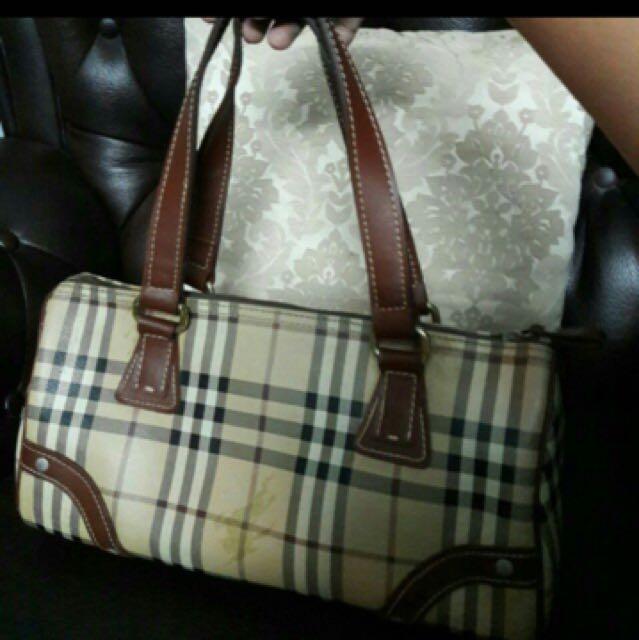 Authentic Burberry vintage japan speedy bag 36611037c030a