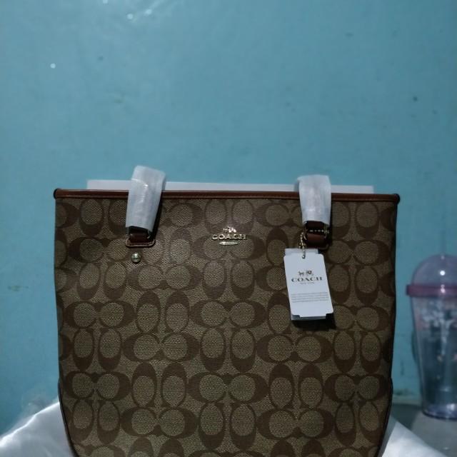 Authentic Coach Signature Small Handbag