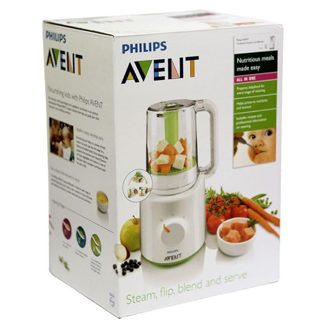 AVENT SCF875/02 4-In-1 Healthy Steam Meal Maker