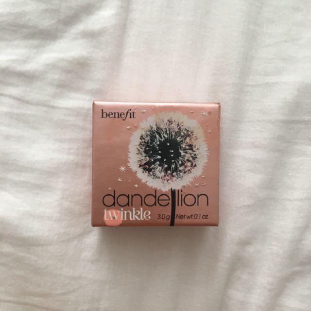 Benefit Dandelion Highlighter BRAND NEW
