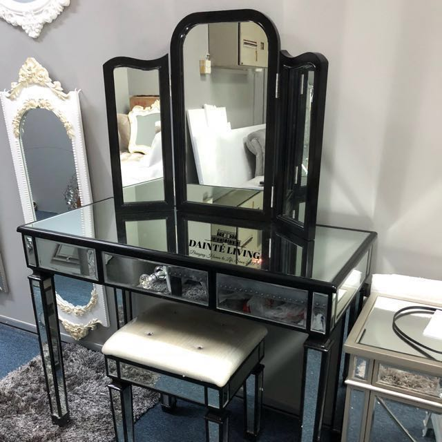 of size and with steals decoration encourage mandrinhomes piece amazing com sets vanity less mirrored mirror set along full really look deals