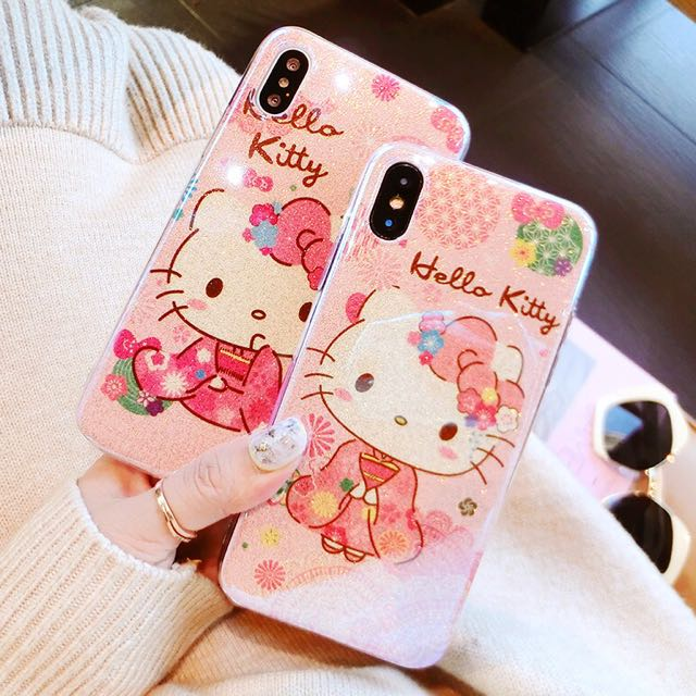 BN Hello Kitty Pink IPhone Soft Casing