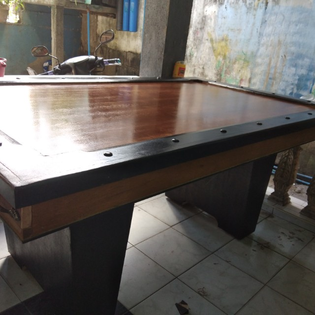 BRAND NEW POOL TABLE Sports Other Sports Equipment On Carousell - Brand new pool table
