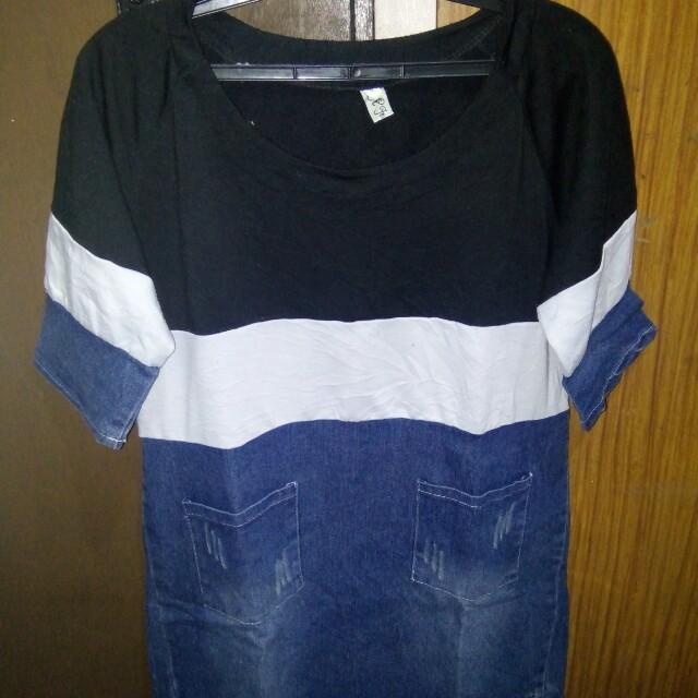 Branded short dress