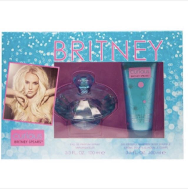 Britney set curious (pre-order)