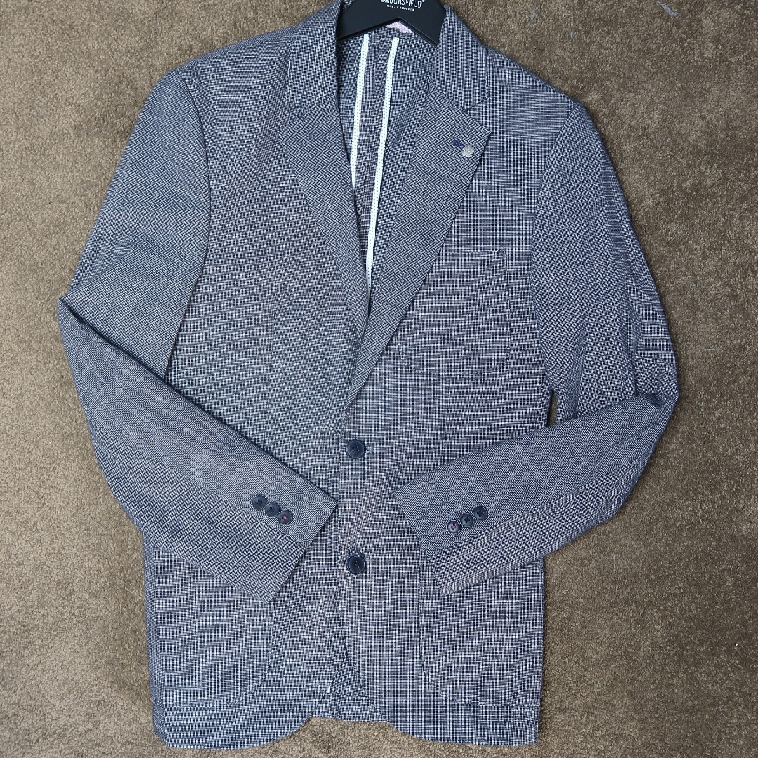 brooksfield charcoal blazer