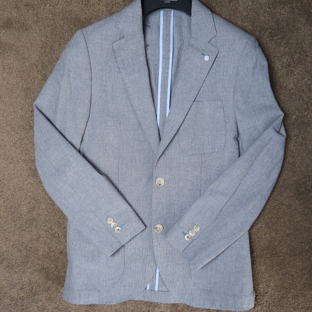 brooksfield light grey blazer
