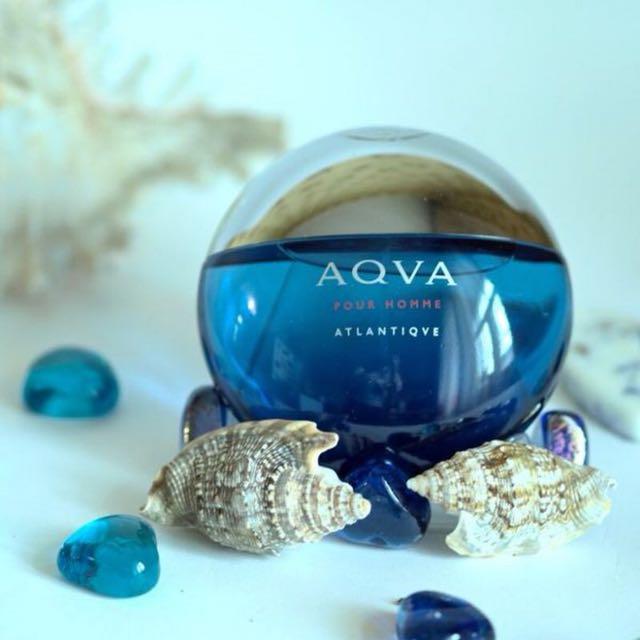 Bvlgari Aqva Pour Homme Atlantiqve Perfume Health Beauty Hand