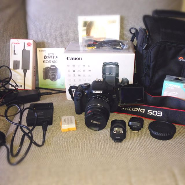 Canon EOS 600D Bundle