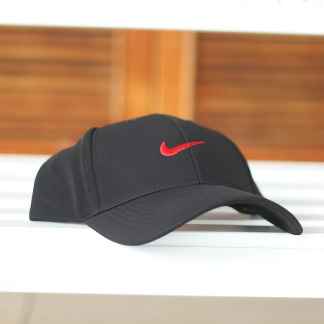 Cap Topi NIKE (black grey red) 4b4a81c77d3