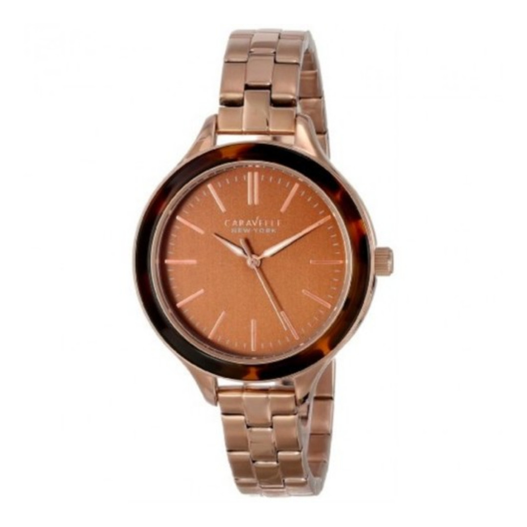 24adc575f1159 Caravelle New York By Bulova Women s Rose Gold Watch