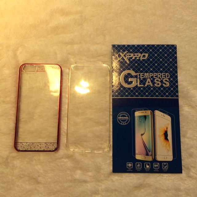 Case dan TG Iphone 5/5s/5se