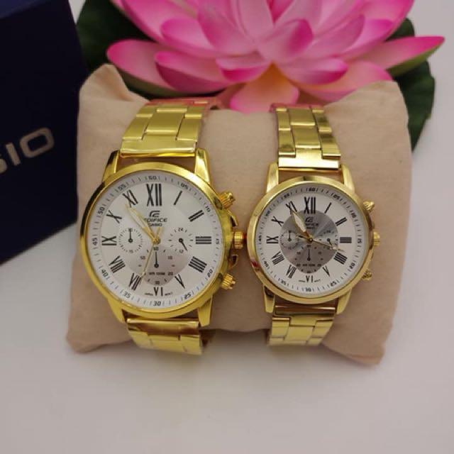 Casio edifice couple watch