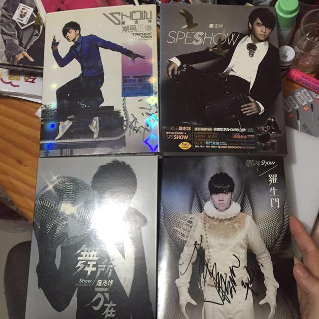 羅志祥正版CD四張