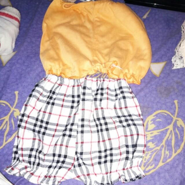 Celana pendek bayi take all