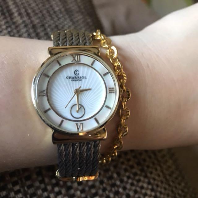 Charriol watch gold