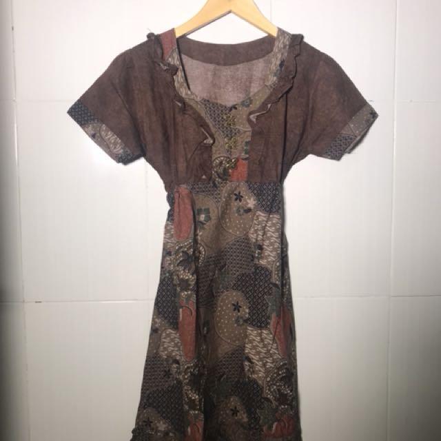 #CNY2018 dress batik