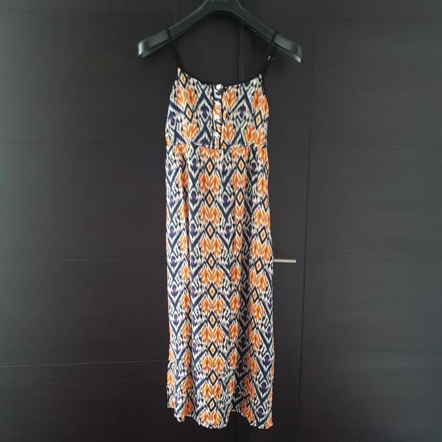 Contempo maxi dress