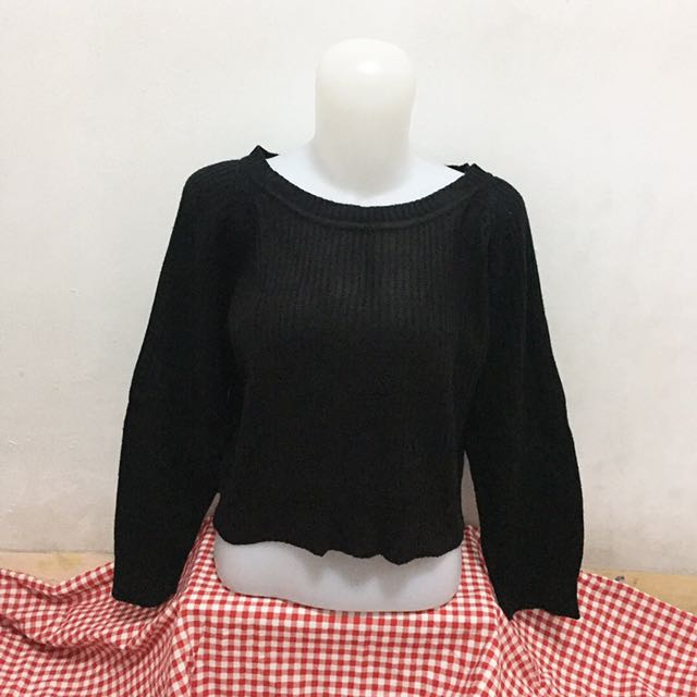 Crop Knitted Top