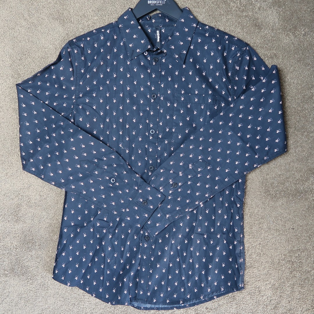 Dangerfield deer print shirt