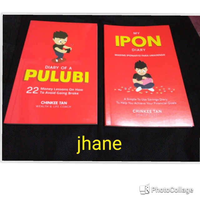 Diary of a pulubi and My Ipon Diary