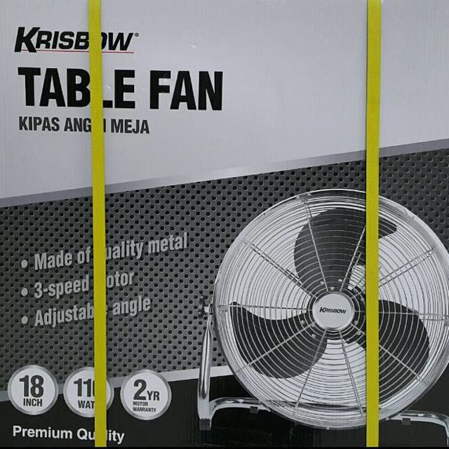 DISKON!!! TABLE FAN KRISBOW KIPAS ANGIN 18 INCH