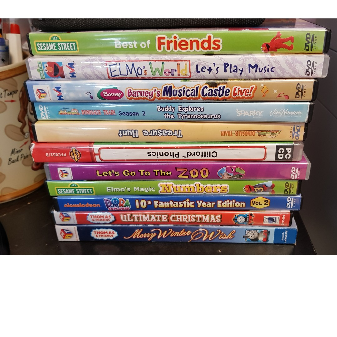 Educational DVD, Babies & Kids, Toys & Walkers on Carousell