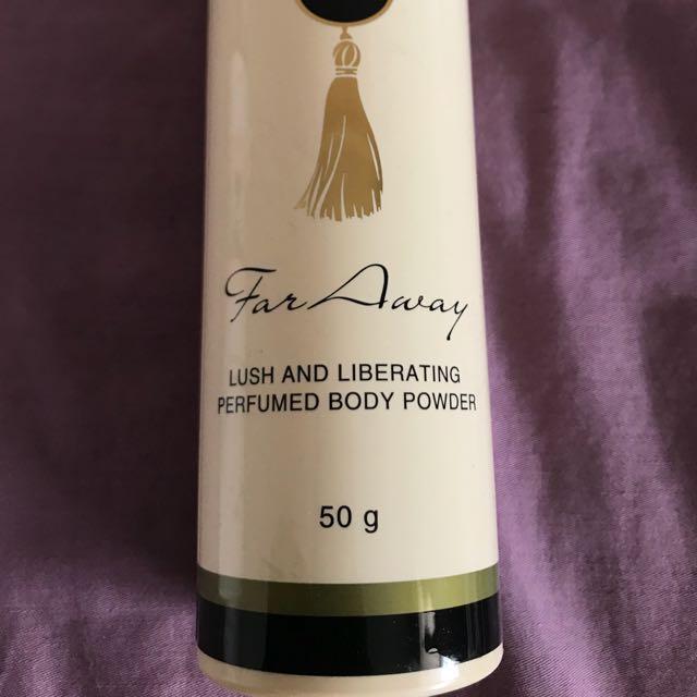 Far away body powder